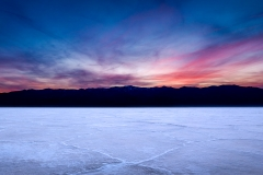 Badwater Sunset Panorama