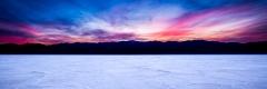 Badwater Sunset Panorama 3:1